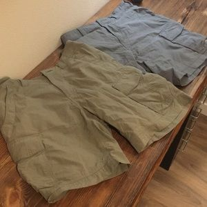 Men's REI Co-op Mojave Cargo Shorts Two Pairs